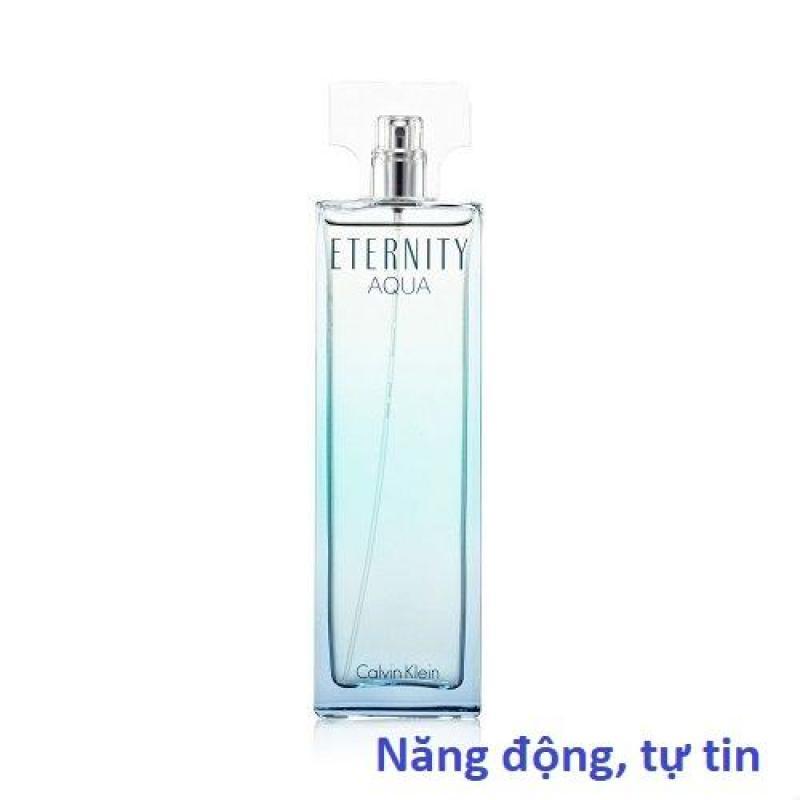 Nước hoa nữ Eternity Aqua 100ml Eau De Parfum hãng Calvin Klein