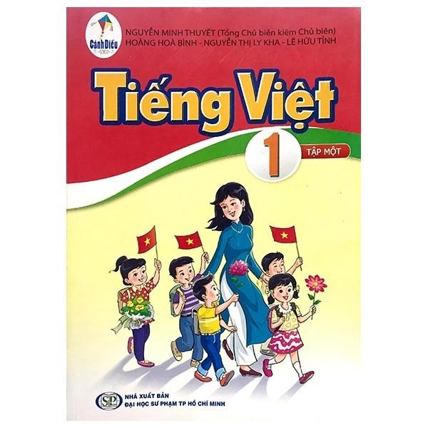 Sách Tiếng Việt Lớp 1 - Tập 1 (Bộ Sách Cánh Diều)