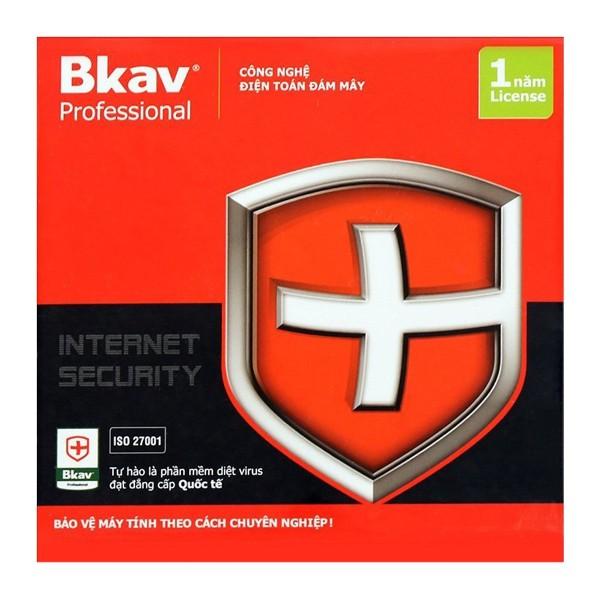 Bảng giá Phần mềm diệt virut BKAV 1pc/năm chính hãng giá tốt Phong Vũ
