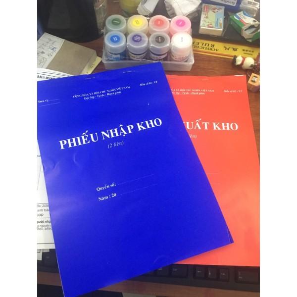 Mua Phiếu xuất kho/nhập kho 2 liên loại dày 100 trang A4