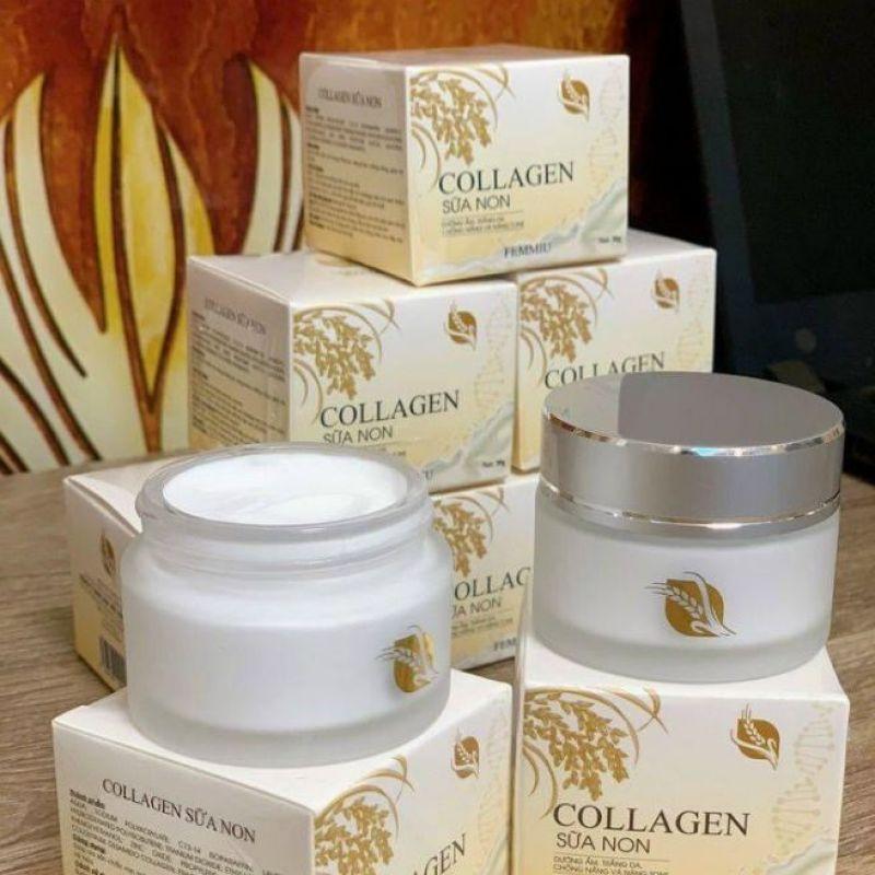 Kem Dưỡng Trắng Da Collagen Sữa Non giá rẻ
