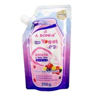 Muối Tắm Trắng và Tẩy Tế Bào Chết A Bonne Spa Yogurt Salt 350g thumbnail