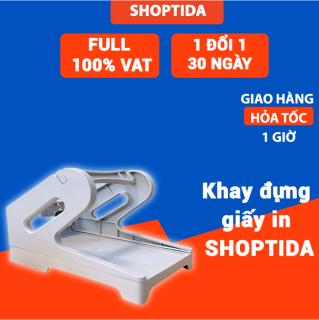 Khay kệ đựng giấy in nhiệt tự dán Shoptida, sử dụng cho giấy in nhiệt và máy in đơn hàng Shoptida Sp46 thumbnail