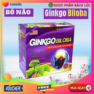 Hoạt Huyết Bổ Não Ginkgo Biloba Extra 240mg Hộp 100 Viên Nang Mềm thumbnail