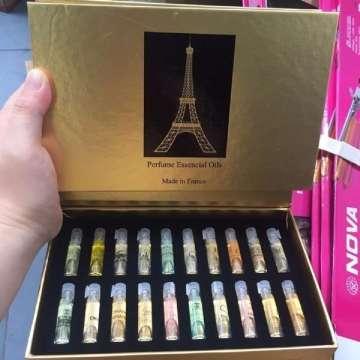 Set Hộp Nước hoa mini Pháp 20 Chai Nhiều Mùi