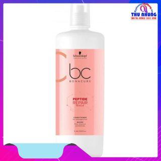 [HCM]Dầu xả Schwarzkopf BC Bonacure Peptide Rescure Repair phục hồi tóc hư tổn 1000ml thumbnail