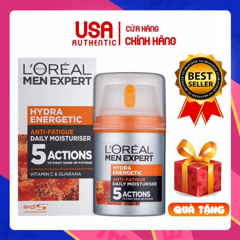 Kem dưỡng ẩm giúp sáng da LOREAL MEN EXPERT - Hỗ trợ làm mờ thâm mụn dành cho nam giới