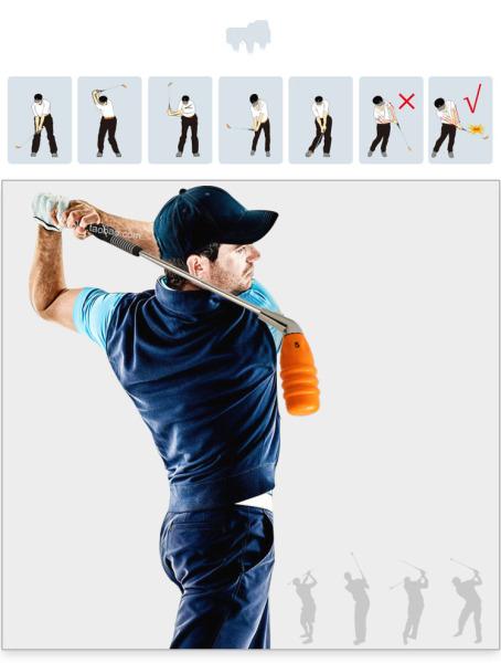 Gậy golf Tập Swing . Gậy Huấn Luyện Tập Swing thế hệ mới giúp Bạn Luyện Tập Đúng Tư thế