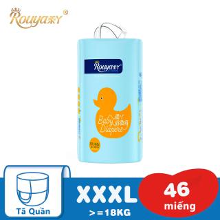Tã bỉm quần sơ sinh Rouya XXXL (Cho bé trên 18kg) - Gói 46 miếng thumbnail
