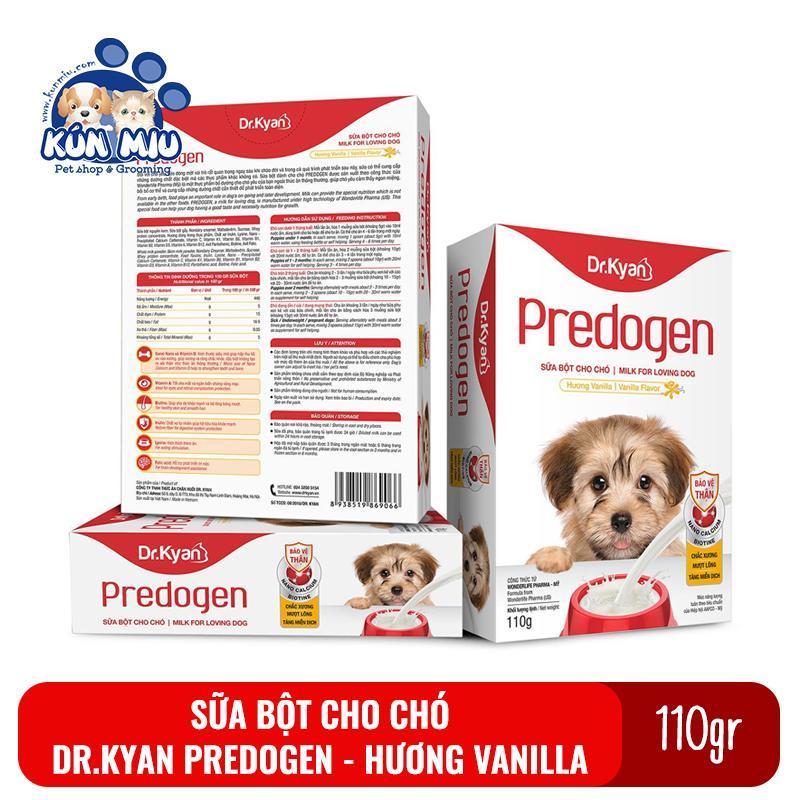 Sữa bột cho chó Dr.Kyan Predogen hộp 110gr cung cấp dinh dưỡng cho chó
