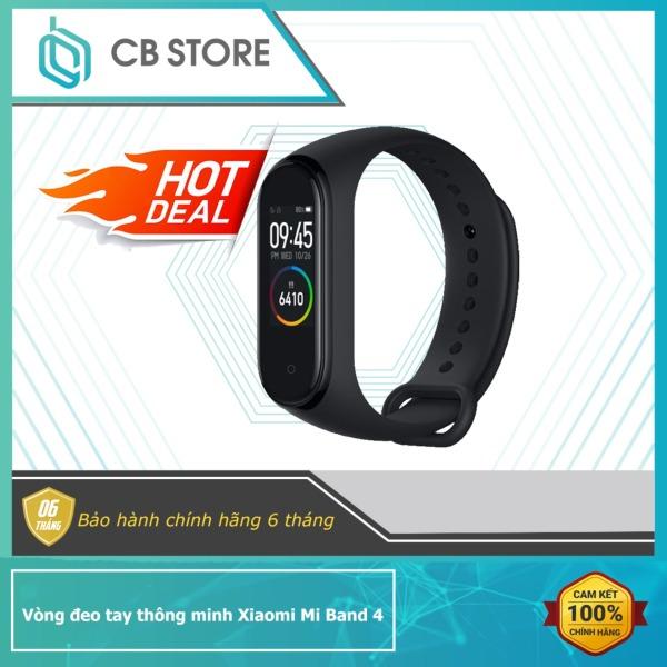 Giá Vòng đeo tay thông minh theo dõi sức khỏe Xiaomi Mi Band 4 / Đồng hồ thông minh mi band 4 - Có Tiếng Việt