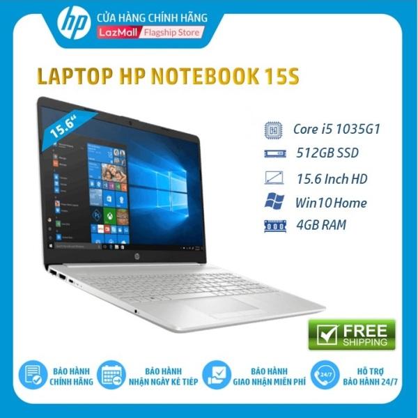 Bảng giá [Tặng Balo HP + Chuột X3000-giao sau 15 ngày]Laptop HP 15s-fq1017TU, Core i5-1035G1(1.00 GHz,6MB),4GB RAM,512GB SSD,Intel UHD Graphics,15.6HD,Wlan ac+BT,3cell,Win 10 Home 64,Silver,1Y WTY-8VY69P - Hàng Chính Hãng Phong Vũ