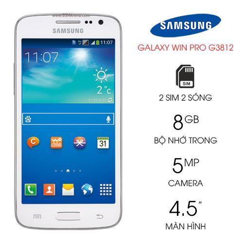 Samsung Galaxy Win Pro G3812 Like New Giảm Cực Hot