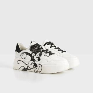 giày thể thao nữ bershka chính hãng hình mickey thumbnail