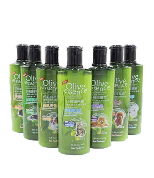 Sữa tắm Olive cho chó (dưỡng lông) chai 450ml - cam