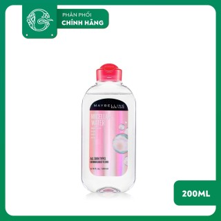 Nước Tẩy Trang Maybelline Micellar Water Removes MakeUp 200ml thumbnail