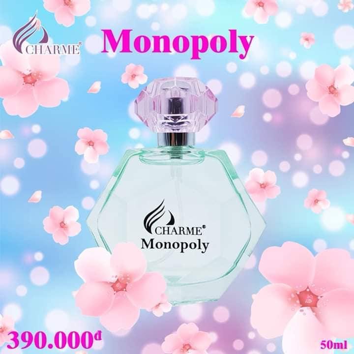 Nước Hoa Nữ Charme Monopoly 50ml