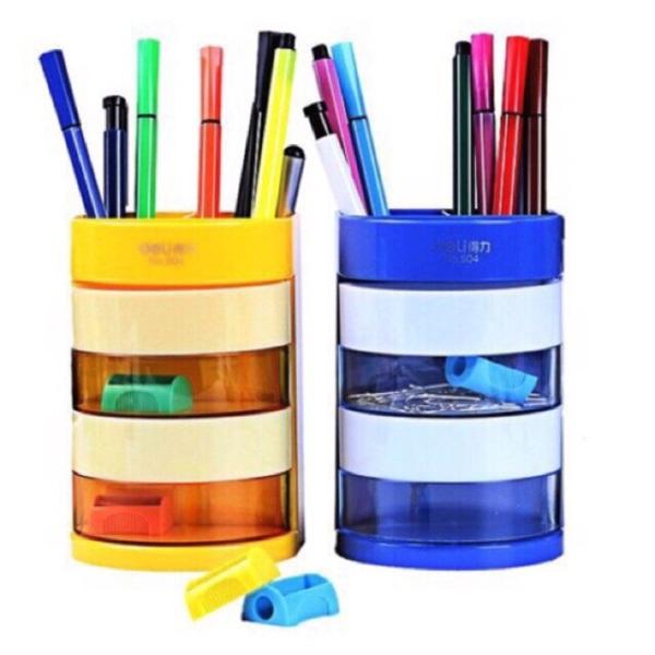 Mua Ống cắm bút Deli 904 nhiều ngăn tiện dụng