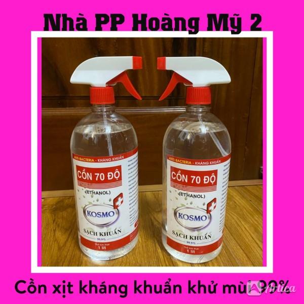 Cồn 70 độ diệt khuẩn - Xịt khuẩn chai xịt tiện lợi chai 500ml - 1000ml