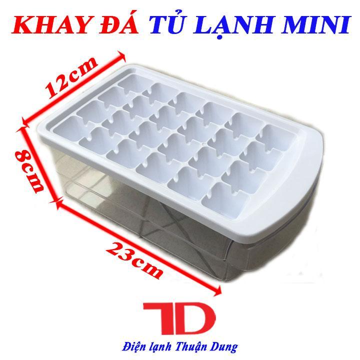 Khay làm đá Tủ Lạnh Mini có ngăn trữ đá viên