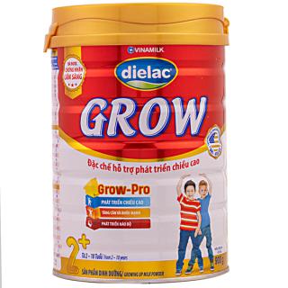 [CHÍNH HÃNG] Sữa Bột VINAMILK DIELAC GROW 1+ 2+, hộp thiếc 900g, date mới nhất thumbnail