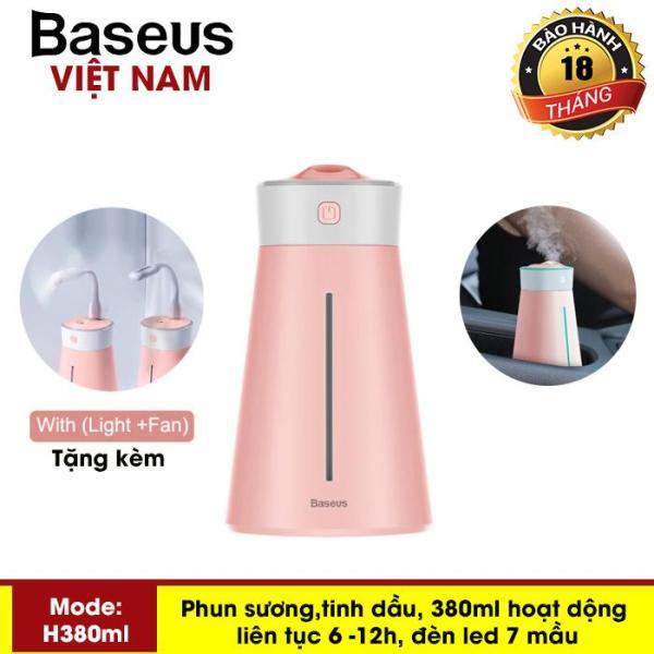 Máy phun sương đa năng tạo độ ẩm chăm sóc da thương hiệu cao cấp Baseus H380ml dùng trong phòng ngủ, văn phòng làm việc và trên ô tô - Phân phối bởi TopLink