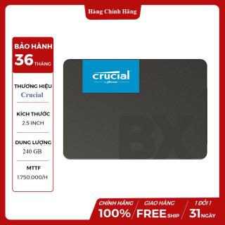 [HCM]Ổ cứng SSD Crucial BX500 240GB 2.5 SATA 3 - CT240BX500SSD1 thumbnail