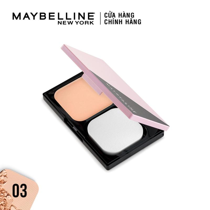 Phấn phủ kiềm dầu siêu mịn 5 trong 1 Clear Smooth All In One Powder Foundation Maybelline New York 9g
