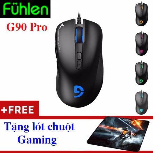 Chuột Fuhlen G90 Pro Gaming - Chuột cao cấp của Fuhlen - G90Pro