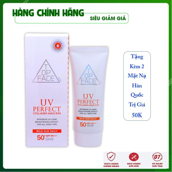 [Hàng Nhập Khẩu Hàn Quốc] Kem chống nắng chiết xuất Collagen ARRATOPFACE Hàn Quốc 70ML