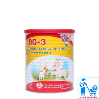 Sữa Bột DG-3 Goat Milk Growing - Up Formula Hộp 400g (Cho trẻ từ 24 tháng tuổi trở lên) thumbnail