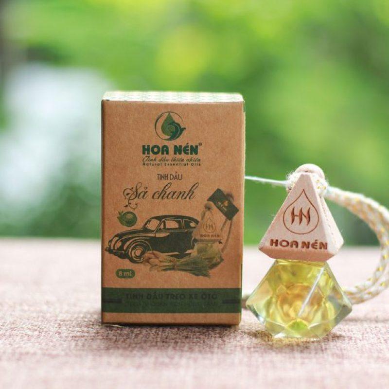 Tinh dầu treo Sả chanh - Hoa Nén