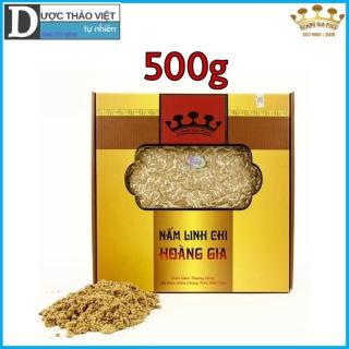 Hộp Nấm Linh chi đỏ Hoàng Gia Cao Cấp xay bột 500g hộp thumbnail