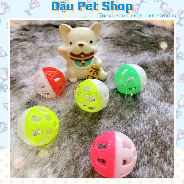 [HCM]Banh nhựa có chuông đồ chơi cho mèo