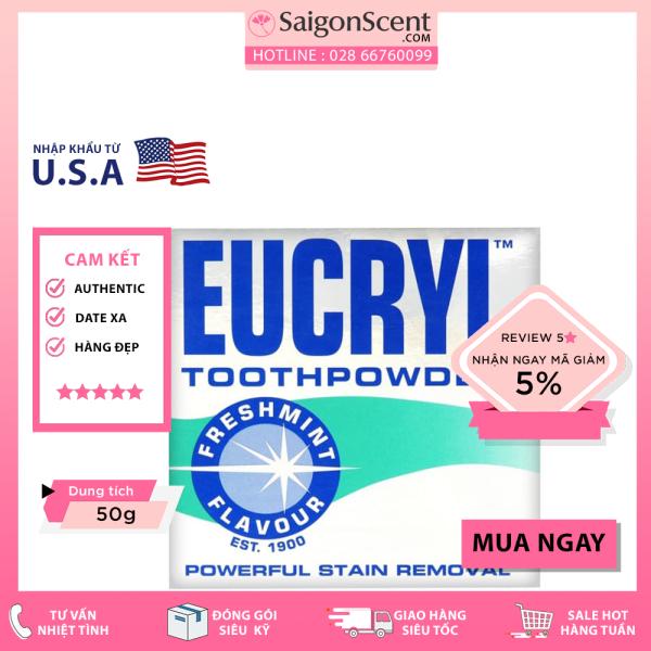 Bột trắng răng Eucryl Toothpowder ( 50g ) giá rẻ