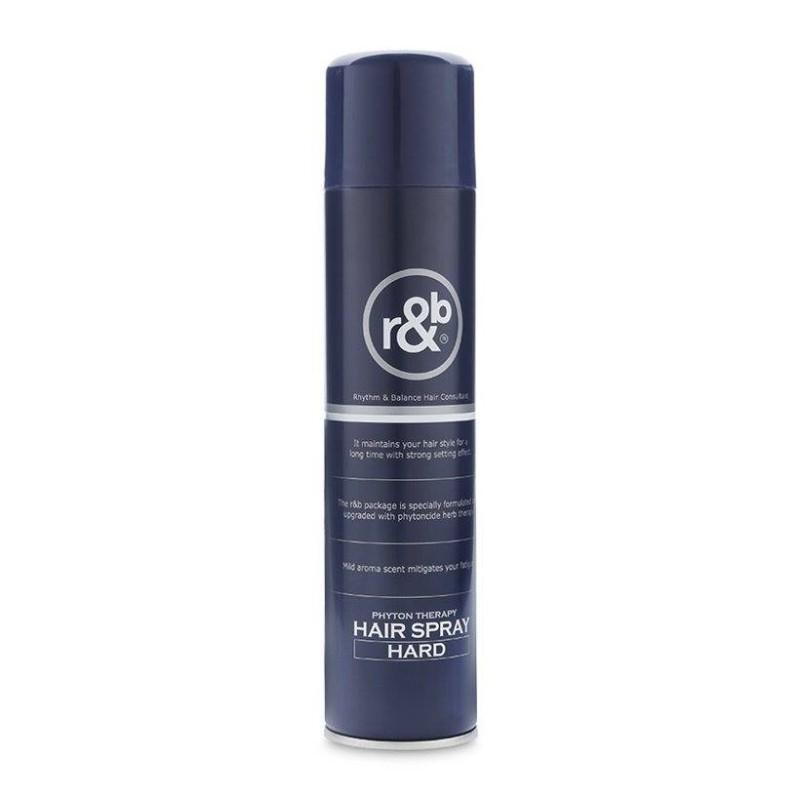Keo Xịt Tóc tạo kiểu tóc gom xịt tóc R&B Hair Spray Hard 330ml giá rẻ