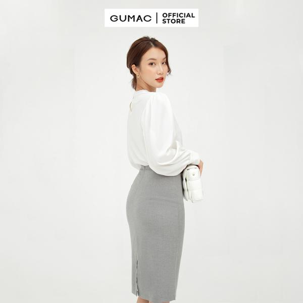 Nơi bán Chân váy nữ  suông cơ bản VB5127 GUMAC mẫu mới Chất Liệu Vải Bố mềm rũ style công sở
