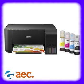 Máy in phun màu đa chức năng Epson L3150 ( Scan,Photo,Wifi) đã bao gồm 4 bình mực hãng đi kèm ( thay thế Epson L405 L365 L385 L405 L360 L310 ) thumbnail
