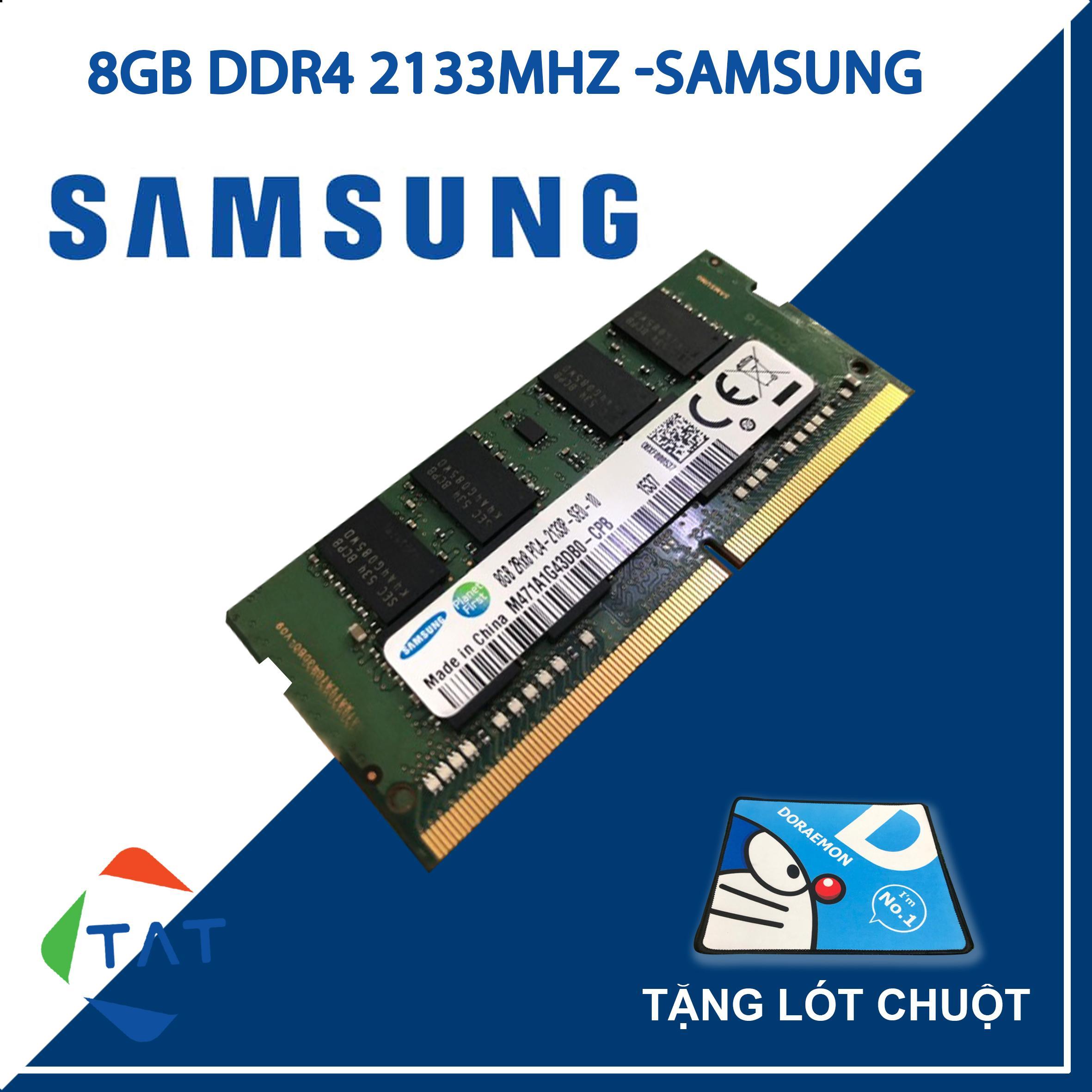 Giá RAM Laptop Samsung 8GB DDR4 Bus 2133MHz 1.2V Dùng Cho Laptop Macbook Bảo Hành 36 Tháng 1 Đổi 1