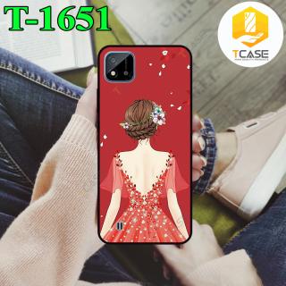 Ốp lưng Tcase dành cho Realme C11 2021 in hình cô gái thumbnail