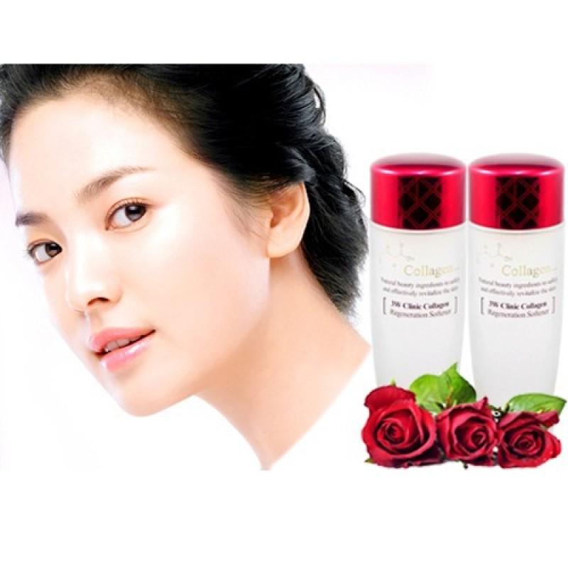 Nước Hoa Hồng Dưỡng trắng da Collagen 3w Clinic Regeneration Softener 150ml Frorence86 Store (Màu Đỏ) giá rẻ