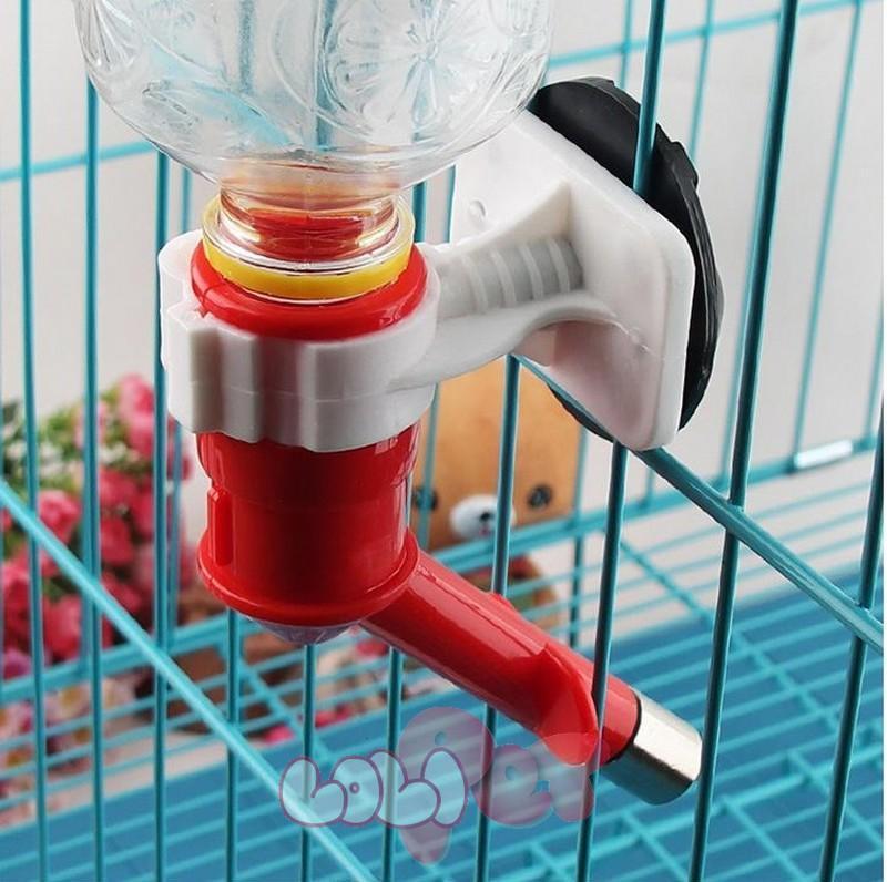 HCM-Vòi treo chuồng chó mèo, cung cấp nước tự động cho thú cưng (màu ngẫu nhên) – vòi uống nước gắn chuồng