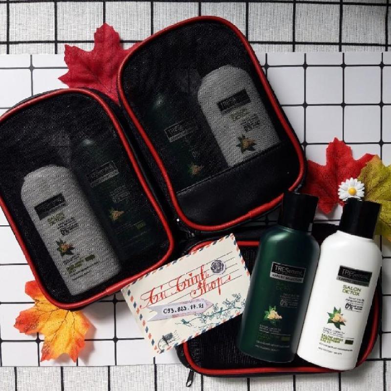 (Hàng Dùng Thử- Size Mini) Bộ  1 dầu gội + 1 xả Tresemme Salon Detox 70ml nhập khẩu