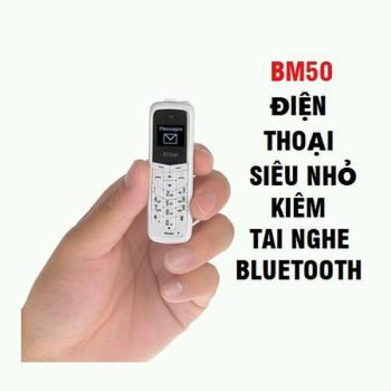 Điện Thoại Siêu Nhỏ BM50 Kiêm Tai Nghe Bluetooth Hàng Fulbox