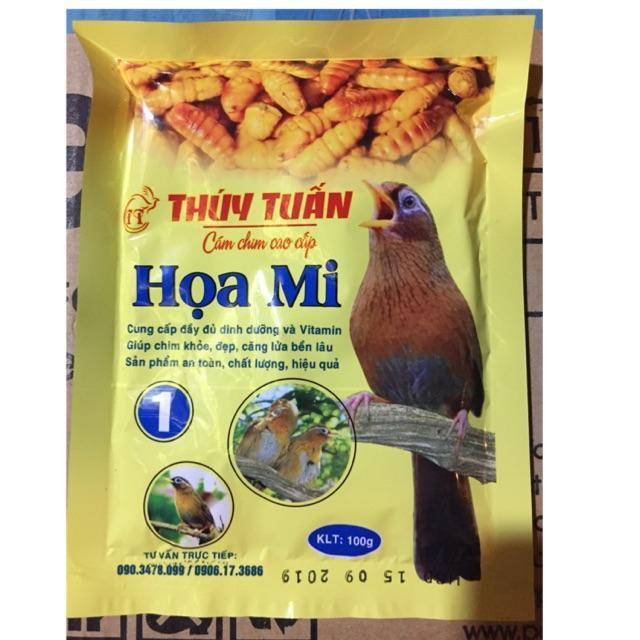 Miễn phí HCM>129k- Cám chim - Thức ăn chim HỌA MI THÚY TUẤN  SỐ 2 mỗi GÓI 200gr - cám dành cho chim cảnh-HP10401TC