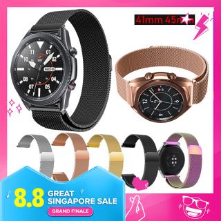 Dây đeo thay thế 20mm 22mm bằng thép không gỉ cao cấp cho đồng hồ thông minh Samsung Galaxy Watch 3 41mm 45mm Beiziye - INTL thumbnail