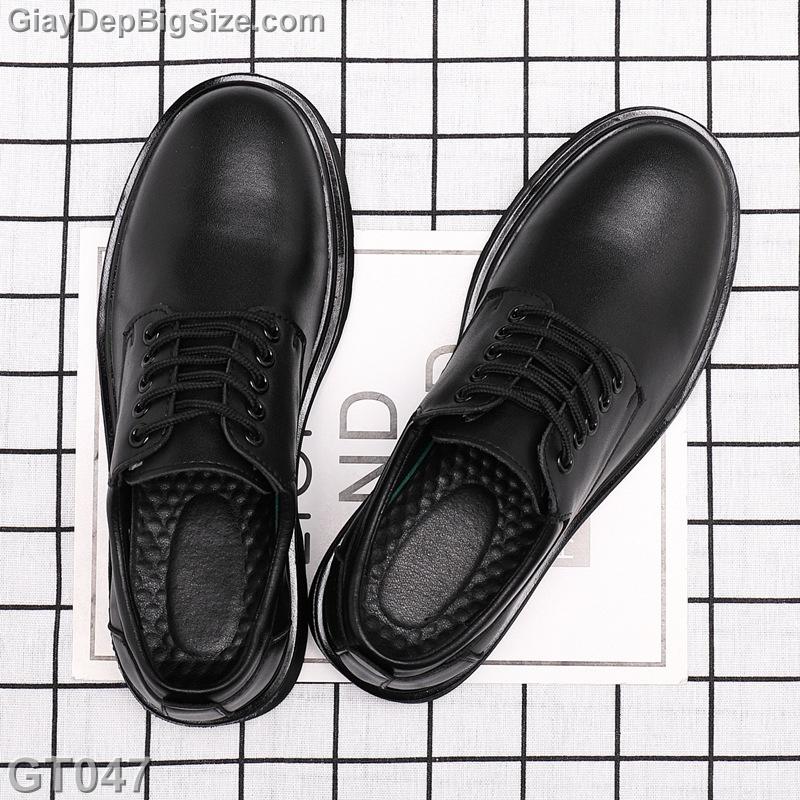 Giày da công sở big size, giày tây nam big size cỡ lớn 44 45 46 47 48 cho chân to