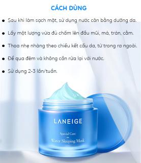 Mặt nạ ngủ LANEIGE Water Sleeping Mask 15ml dưỡng ẩm, cấp nước skincare thumbnail