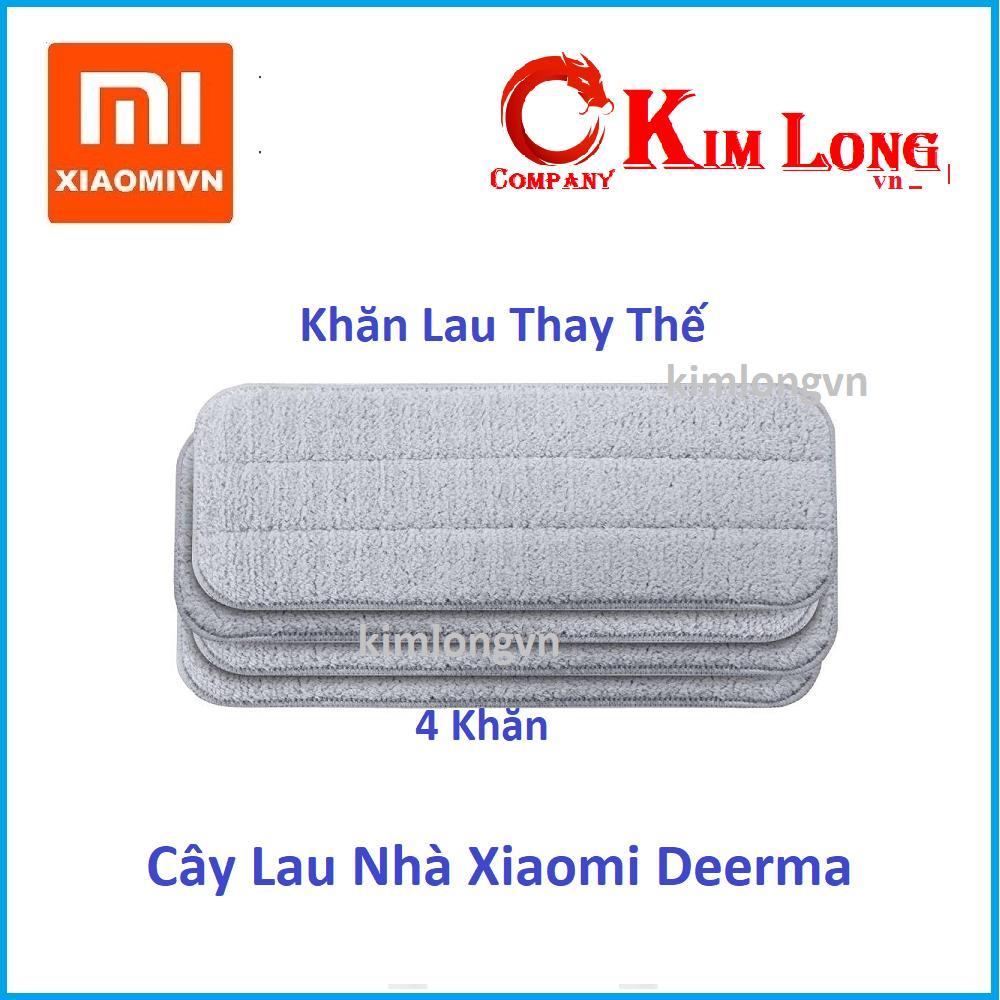 Khăn Lau Thay Thế Cây Lau Nhà Xiaomi Deerma - Hãng phân phối