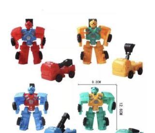 Combo 2 đồ chơi xe biến hình siêu nhân độc đáo. thumbnail